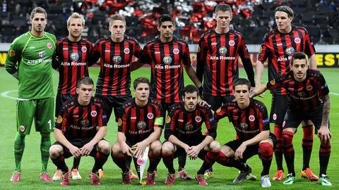 Das Team der Eintracht 2013/2014