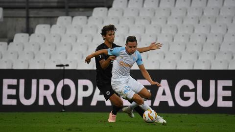 Lucas Torró im Zweikampf