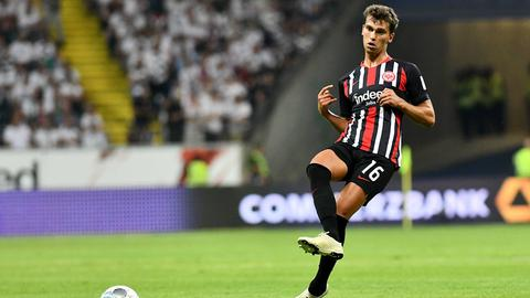Lucas Torró konnte erste Akzente setzen im Mittelfeld.