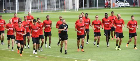 Eintracht im Training
