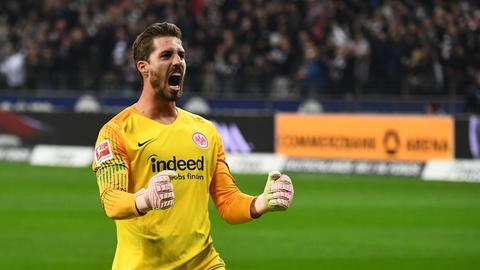 Eintracht-Torhüter Kevin Trapp will eine erfolgreiche Rückrunde spielen.