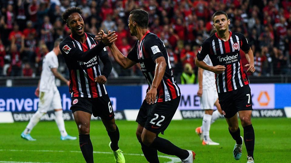 Eintracht Frankfurt marschiert weiter Richtung Europa League ...