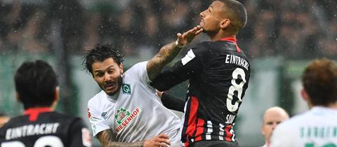 Spielszene Eintracht gegen Bremen