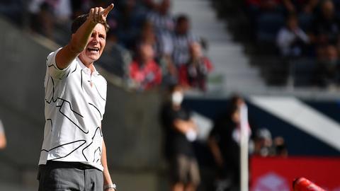 Eintracht-Trainer Oliver Glasner tritt erstmals bei Ex-Klub Wolfsburg an.