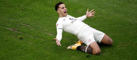 Rodrigo Zalazar wird bei der Eintracht seine Chance(n) erhalten.