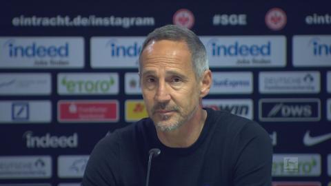 Eintracht Pressekonferenz