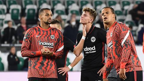 Eintracht: Enttäuschung nach dem Abpfiff in Wolfsburg
