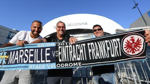 Fans Eintracht Marseille