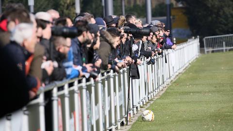 Eintracht Fans Training