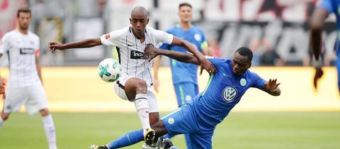 Fernandes im Spiel gegen Wolfsburg