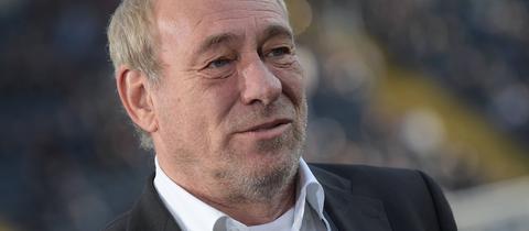 Eintracht-Präsident Peter Fischer.