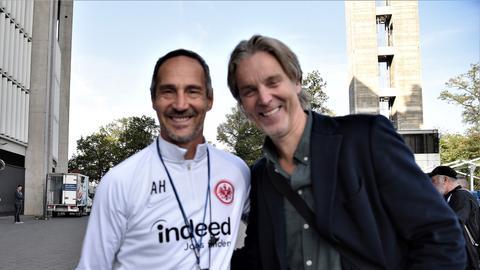 Eintracht-Vereinslegende Jan Aage Fjörtoft hat einen Tipp für Trainer Adi Hütter.
