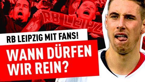 """Die Eintracht-Fans stellen sich die Frage: """"Wann dürfen wir rein?"""""""
