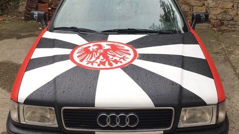 Mit dem Adler auf der Motorhaube nach Berlin