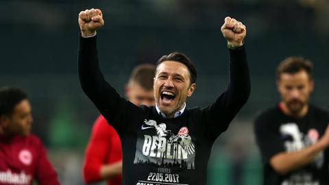 Kovac-Jubel nach Finaleinzug dpa