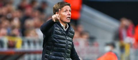Eintracht-Trainer Oliver Glasner