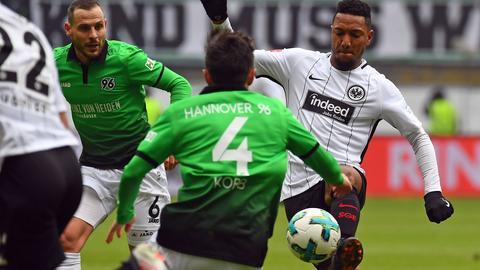 Jonathan de Guzman im Spiel gegen Hannover 96