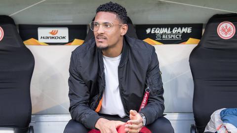 Sébastien Haller, Stürmer von Eintracht Frankfurt.