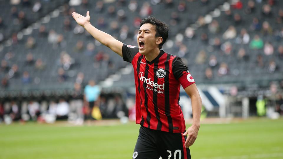 Makoto Hasebe meckert gegen Hoffenheim