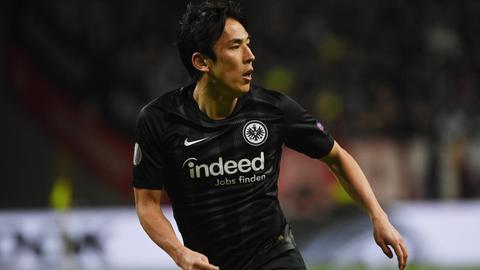 Makoto Hasebe im Spiel gegen Inter Mailand