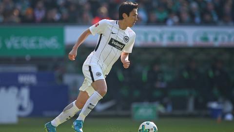 Defensiv-Allrounder Makoto Hasebe ist fester Bestandteil des Frankfurter Kaders.