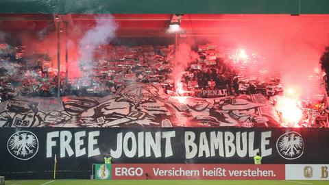 Choreografie der Eintracht-Fans