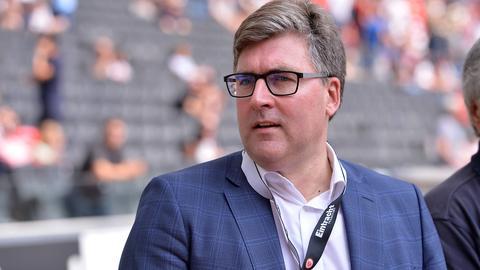Eintracht-Boss Axel Hellmann