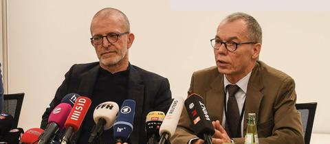 Axel Hellman, Stefan Majer und Rene Gottschalk