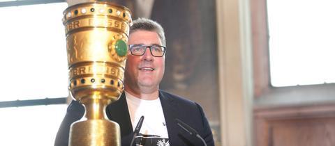 Axel Hellmann und DFB-Pokal
