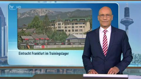 Schalte in hessenschau kompakt zu Sebastian Rieth