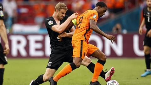 Martin Hinteregger im Spiel gegen die Niederlande