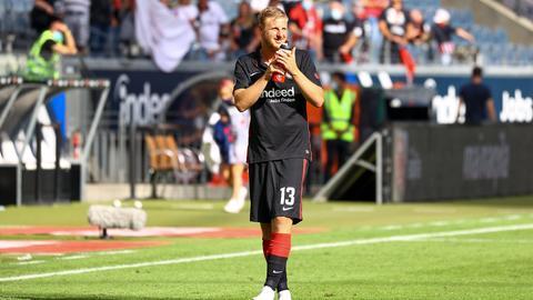 Martin Hinteregger von Eintracht Frankfurt