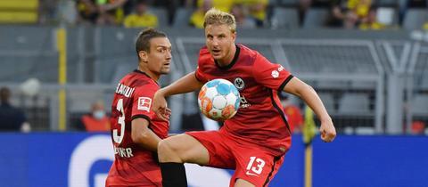 Martin Hinteregger im Spiel gegen Dortmund.