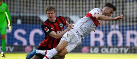 Eintracht Frankfurt VfB Stuttgart Martin Hinteregger