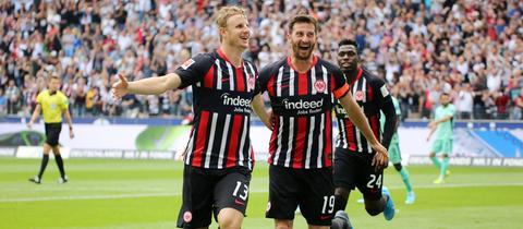 Martin Hinteregger von Eintracht Frankfurt im Spiel gegen Hoffenheim