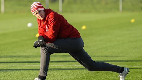 Martin Hinteregger im Training der österreichischen Nationalmannschaft