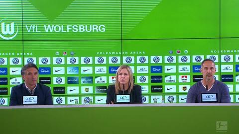 Die PK nach dem Eintracht-Spiel in Wolfsburg