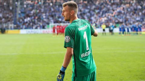Eintracht-Keeper Lukas Hradecky