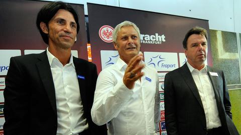 Bruno Hübner, Armin Veh, Heribert Bruchhagen
