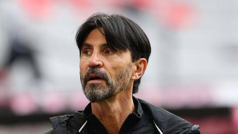 Bruno Hübner beim Bayern-Spiel