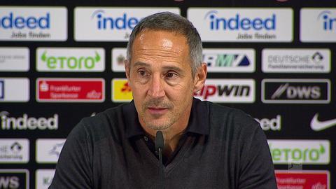 Adi Hütter, Trainer Eintracht Frankfurt