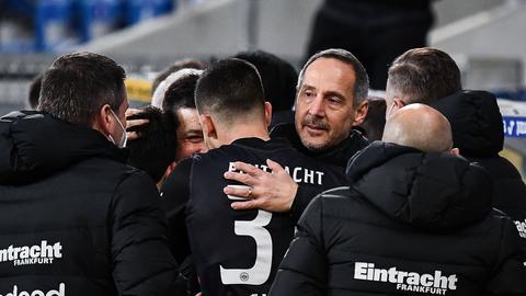 Adi Hütter nach Sieg in Hoffenheim