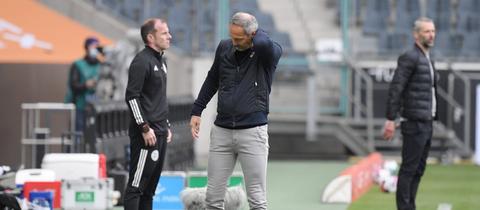 Adi Hütter Eintracht Frankfurt Borussia Mönchengladbach
