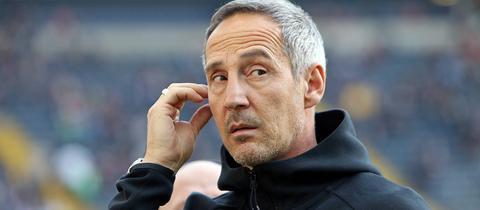 Eintracht-Coach Adi Hütter.