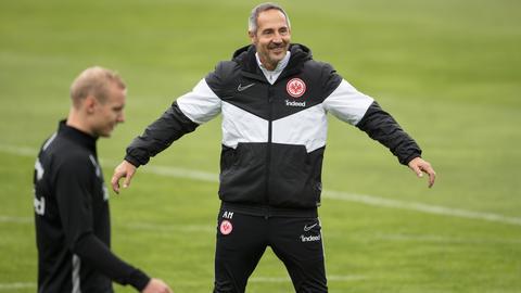 Adi Hütter, Trainer von Eintracht Frankfurt