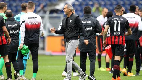 Adi Hütter Eintracht Frankfurt TSG Hoffenheim