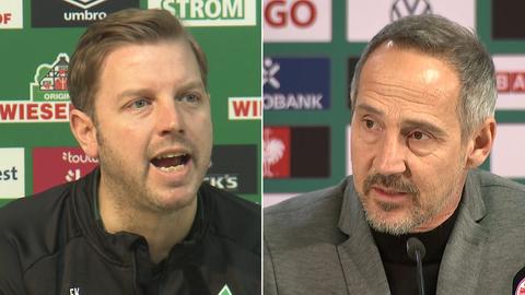 Florian Kohfeldt und Adi Hütter