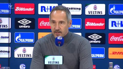 Adi Hütter PK Schalke still