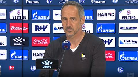 Adi Hütter Schalke still
