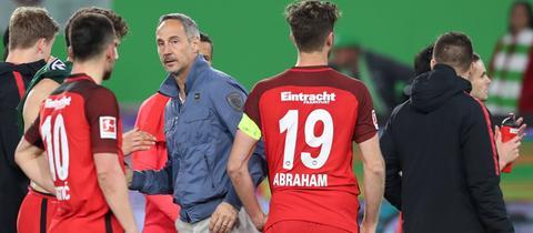 Adi Hütter, Trainer von Eintracht Frankfurt.